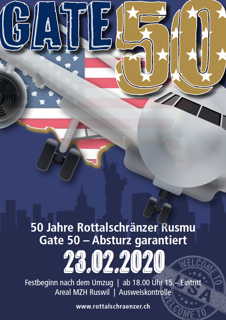 Gate 50 Flyer Front