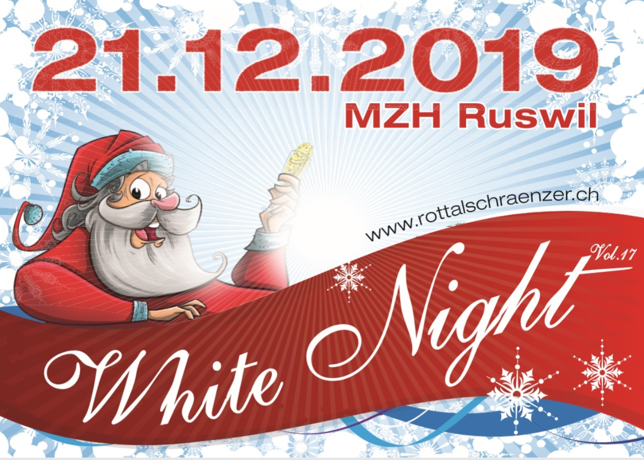 White Night Flyer V 2019